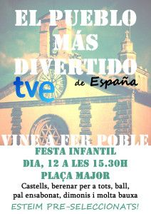 CARTELL TVE CONSELL