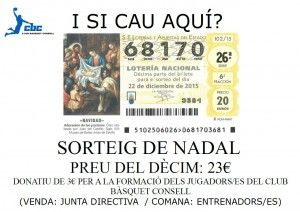Poster Loteria CB Consell
